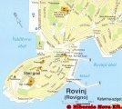 карта Ровинь - Истрия