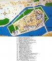 карта Трогир