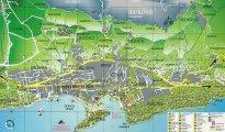 карта Макарска