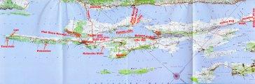 карта о.Паг