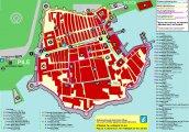 карта Дубровник