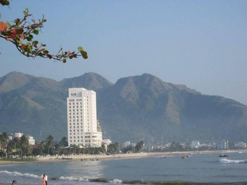 вьетнам нячанг отель вдб фото синего цвета