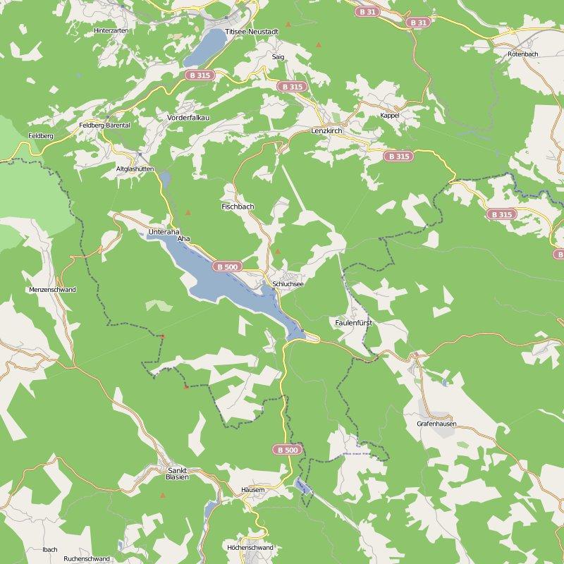 карта германия шлюхзее