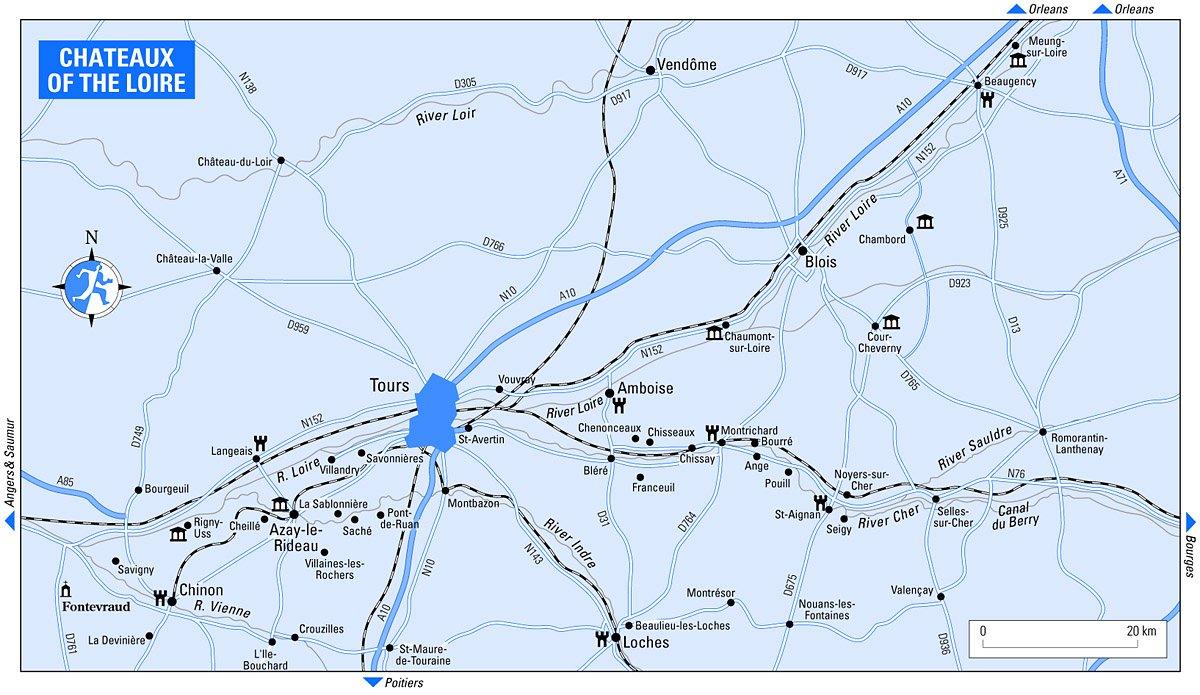 Схемы и карты замков