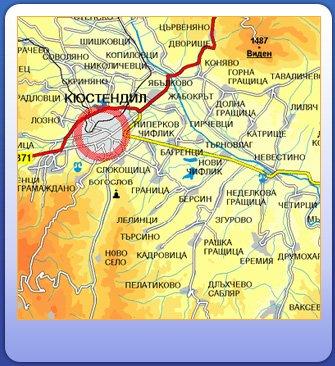 Karty Kyustendila Bolgariya Podrobnaya Karta Kyustendila Na Russkom