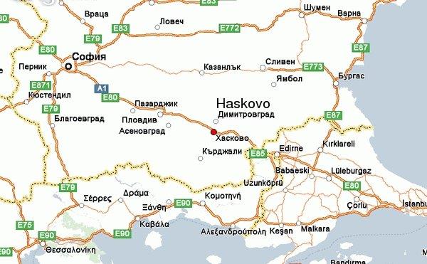 Karty Haskovo Bolgariya Podrobnaya Karta Haskovo Na Russkom Yazyke