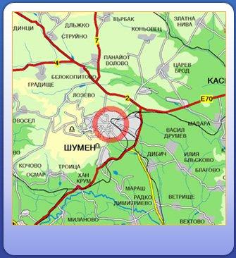 Karty Shumena Bolgariya Podrobnaya Karta Shumena Na Russkom Yazyke S