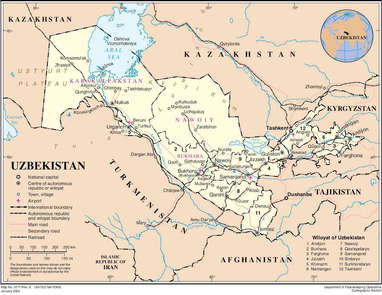 Картинки узбекистана на карте