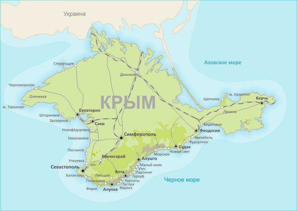 Картинки по запросу карта российского крыма