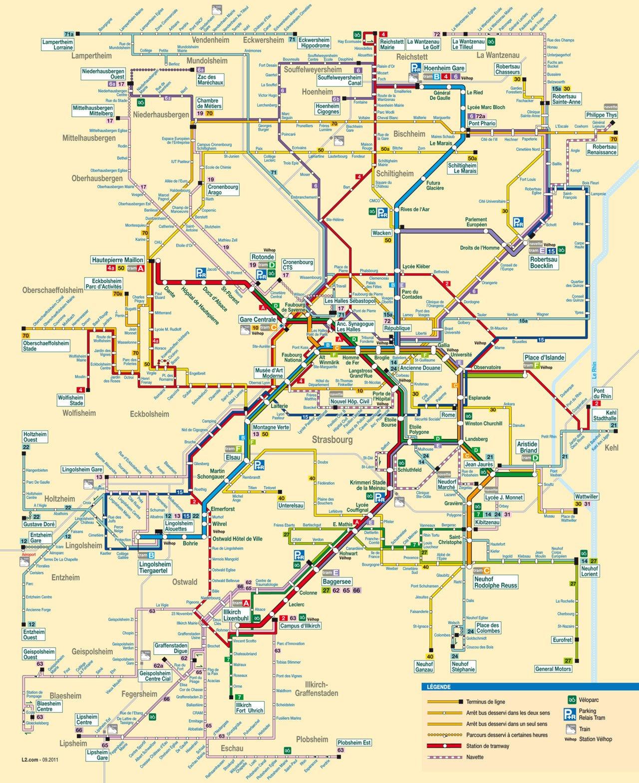 Karty Strasburga Franciya Podrobnaya Karta Strasburga Na Russkom