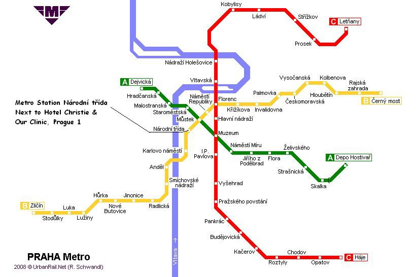 Схема метро в оренбурге