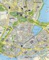 карта города Гамбург