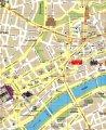 карта города Франкфурт - на - Майне