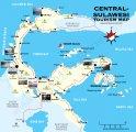 карта Сулавеси