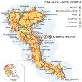 Туристическая карта острова