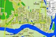 Карта с улицами