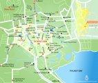 карта Пхукет-таун