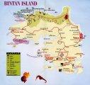 карта о.Бинтан