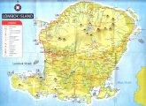 карта о.Ломбок