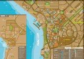 карта курорта Акаба