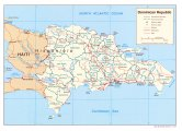 Политическая карта Доминиканской республики